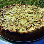 recette Gateaux au fromage blanc et à la pistache.