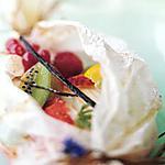 recette papillote de fruits de Scott Serrato(recette minceur)