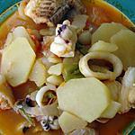 recette Caldeirada de Peixe (un peu comme la bouillabaisse)
