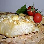 recette Fougasse aux fromages & aux herbes