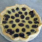 recette Tarte amandine aux prunes