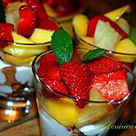 Verrines aux fruits