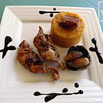 recette râbles de lapin aux échalottes confites