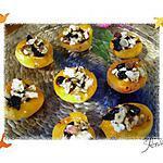 recette Abricots au chèvre, olives, noisettes -TAPAS