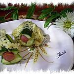 hot dog aux courgettes