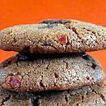 recette Cookies aux piments confits et chocolat noir