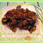 recette cote de veau parmigiana