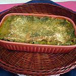 recette Lasagnes épinards/sauce tomate