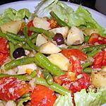 Salade niçoise toute simple au thon