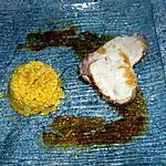 recette Roti de porc et risoto aux poireaux