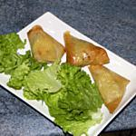 recette Samoussas au rocamadour