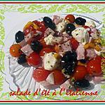 recette salade d'été à l'italienne
