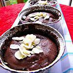 recette FONDANT CHOCOLAT BANANE