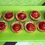 recette SABLE AU PARMESAN ET TOMATE CERISE