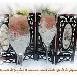 recette verrines de gambas et saumon sauce aneth,perle du japon