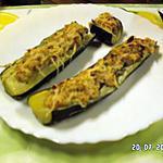 recette Courgettes farcies au poisson