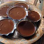 recette Poudings au chocolat