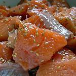 recette Truite à la nippone.