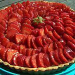 recette Tarte aux fraises et au limoncello