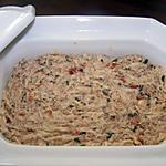 recette Rillettes de maquereaux aux dés de tomates séchées