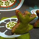 recette Biscuits au sésame noir et glaçage au matcha