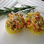 recette Originale pomme de terre et ses petits Légumes au fromage
