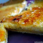 recette Tarte à la crème brûlée