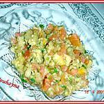 recette salade d'aubergines grillées