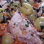 Tajine de dinde aux raisins et aux abricots