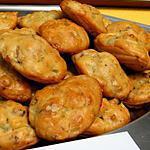 recette Ooo Madeleines noix & oignons ooO
