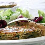 recette Tarte Poireau & Courgette...