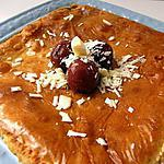 recette FONDANT CHOCOLAT BLANC CERISE