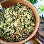 recette riz pilaf en sauce tomate aux cèpes et au parmesan
