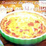 recette ~ Goyère au Maroilles~