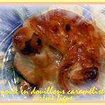 recette douillons de poire caramelisé crème figue