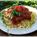 recette Sauce à spaghetti de Dune55