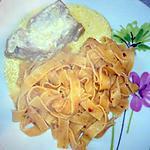 recette Filet mignon de porc au maroilles...