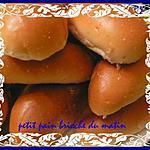 recette petit pain brioché du matin