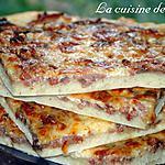 recette Pizza à la mode alsacienne