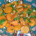 recette Salade de carotte à l'ail et au persil