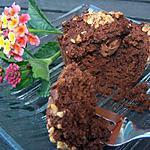 recette Muffins chocolat-noisettes coeur praliné