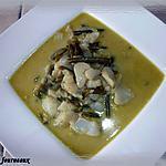 recette Poisson sauce curry & lait de coco