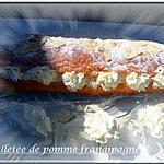 recette feuilletée de pomme frangipagne