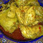 recette **cari poulet massalé**