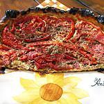 recette tarte toute simple vite faite à la tomate