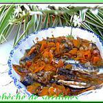 recette escabèche de sardines