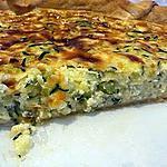 recette Quiche courgettes et fromage blanc