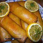 recette Boureks ou briks à la pomme de terre et thon