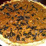 recette Tarte aux pruneaux et aux noix