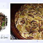 recette gratin de cèpes aux pommes de terre